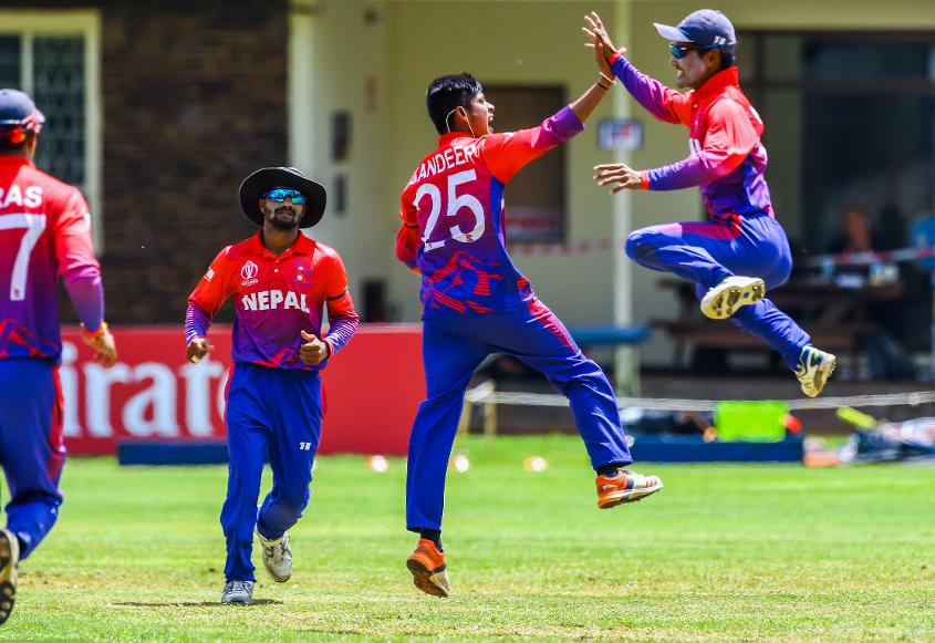 Nepal thrash PNG to secure ODI status
